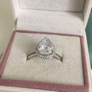 56 Pandora Teardrop Ring